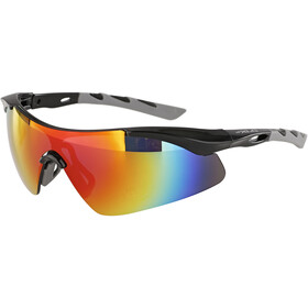 XLC Komodo SG-C09 Gafas, black/grey/grey mirrored
